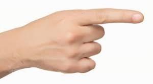 δείκτης δάχτυλο