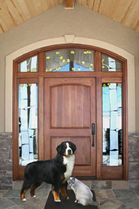κουδούνι πόρτας για σκύλους