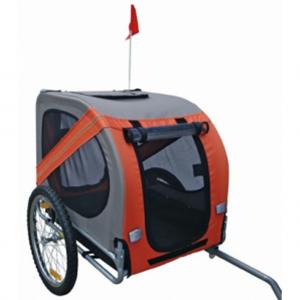 Τρέιλερ ποδηλάτου για σκύλους. Αν θέλετε να μάθετε περισσότερα γι' αυτό το προϊόν, πατήστε στην εικόνα.