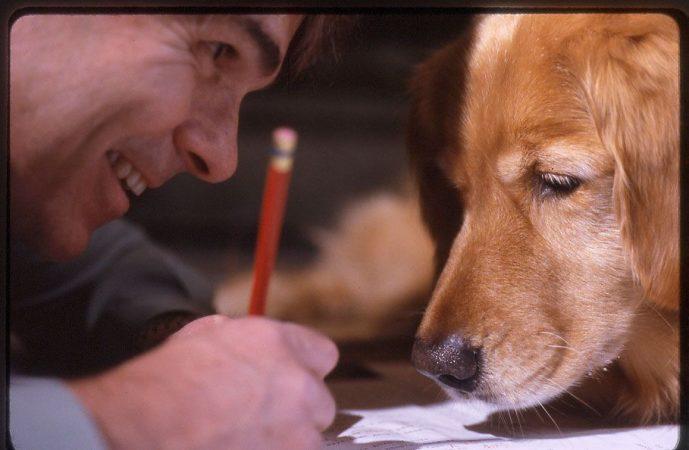 Ένας σκύλος … συγγραφέας…